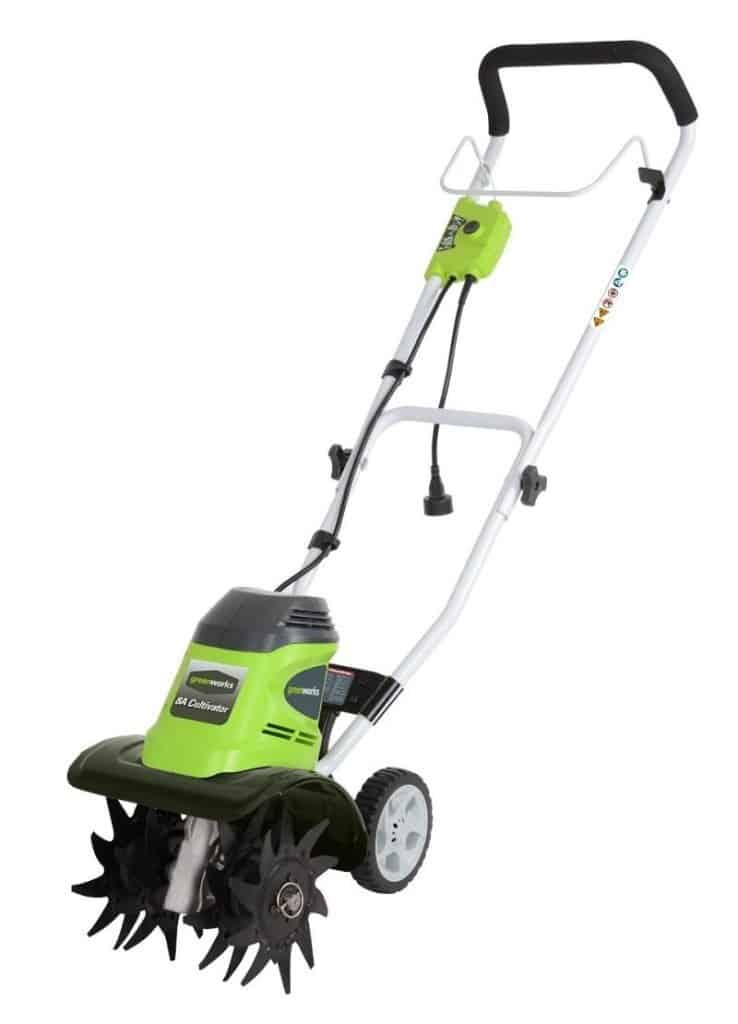 GreenWorks Corded Tiller