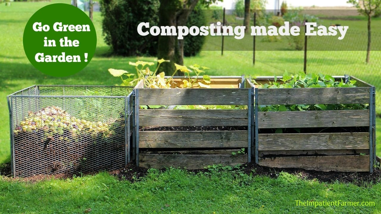 Composting doesn't have to be complicated. How to create compost for the home gaden