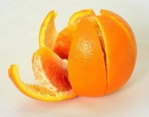 Orange peels can help to control ants.