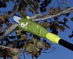 SunJoe SWJ800E Electric Pole Chain Saw, 8-Inch, 6.5-Amp