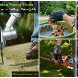 Top 8 Time-Saving Outdoor Garden Power Tools