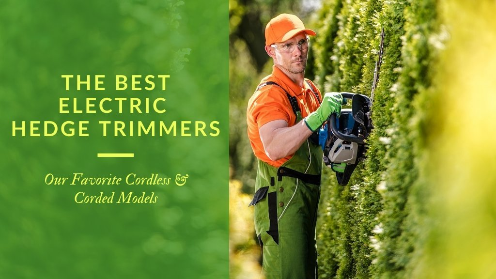 The best electric hedge trimmers - our favorite cordless and corded models