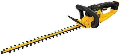 Dewalt 20 V Max Hedge Trimmer in yellow