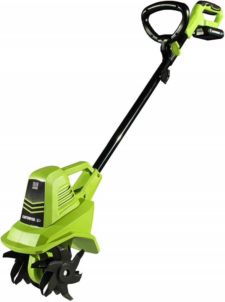 The Earthwise 20volt Cordless Cultivator