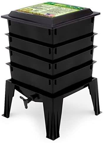 Photo of the Worm Factory 360 - a Stacked Tray Worm Composter