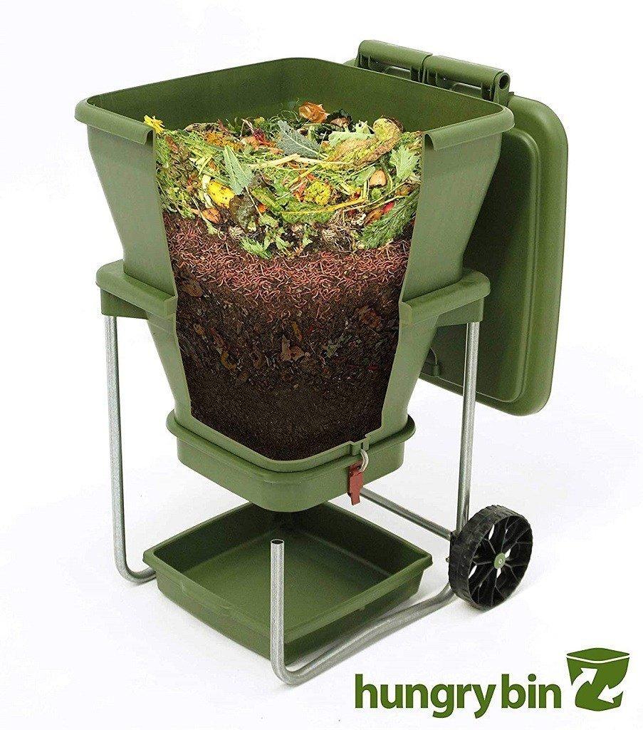 Green Flow through Worm Farm Compost Bin by HungryBin