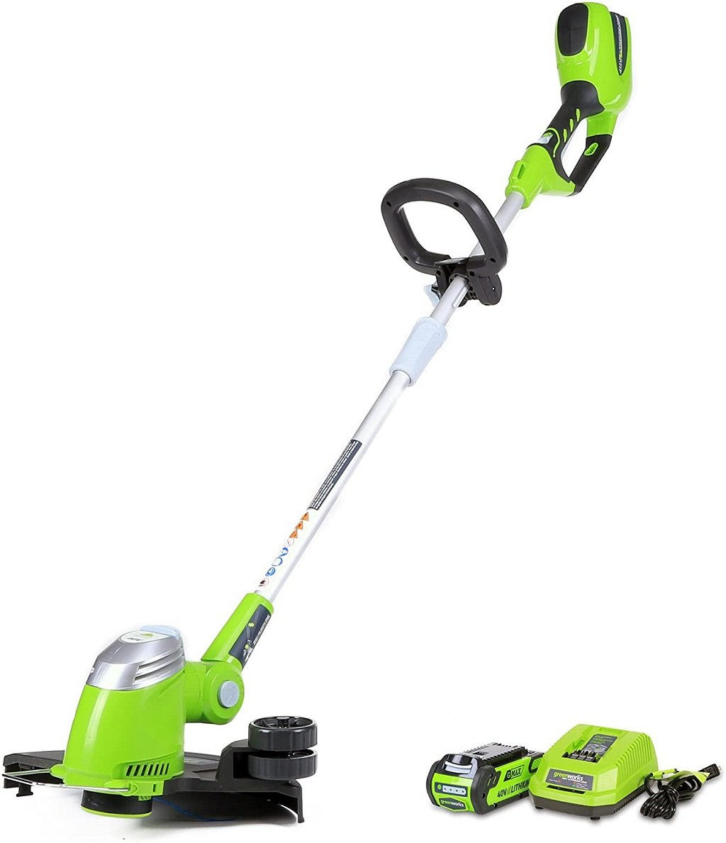 Greenworks 21302 Cordless String Trimmer and Edger