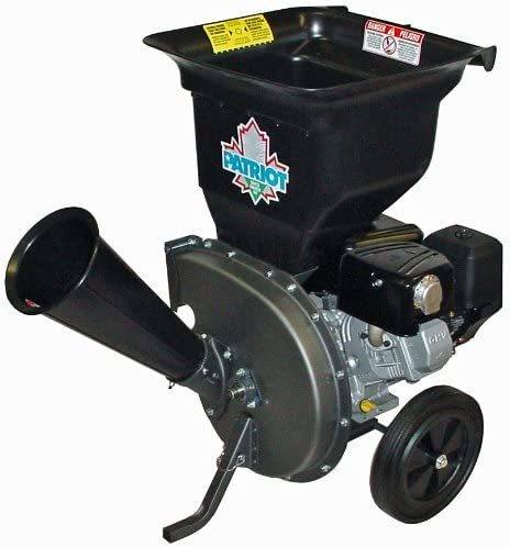 Patriot Products CSV-3100B Gas Powered Wood Chipper