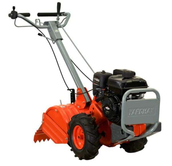 Yardmax Model YT4565 Orange Rear Tine Tiller